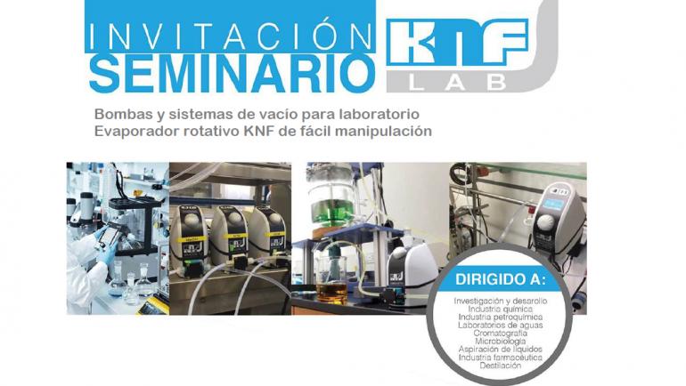 Seminario Gratuito de KNF LAB auspiciado por A&C Scientific SAC
